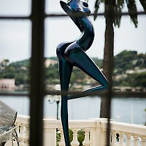 Expo de sculpture à ART' Night, la Rotonde Beaulieu-sur-mer