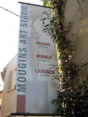 Ouverture saison 2012 de l'atelier-galerie Mougins Art Studio