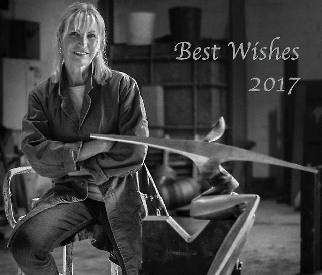 Best Wishes - Marion Burkle 2017