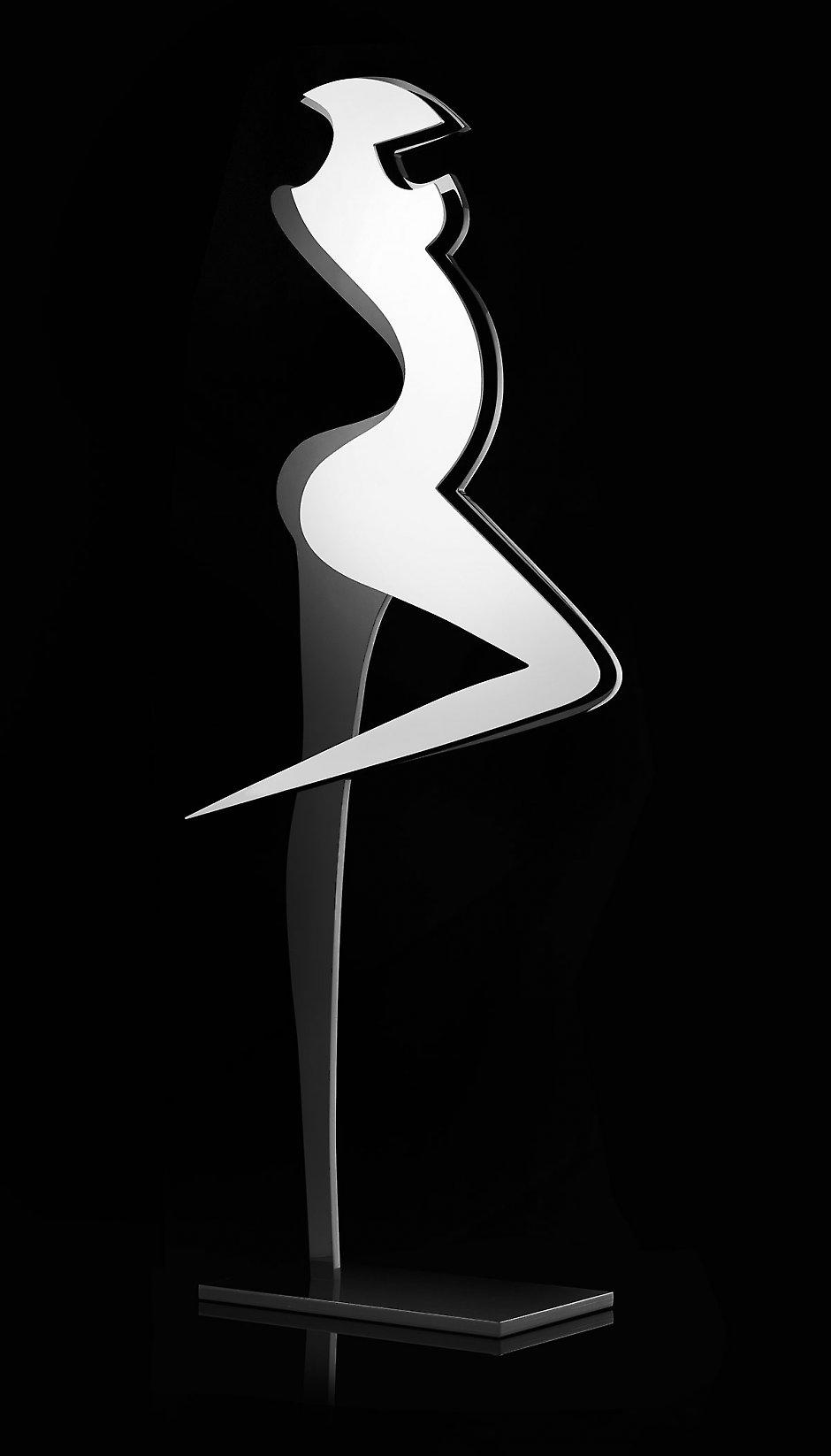 Danseuse, sculpture en Plexiglas®