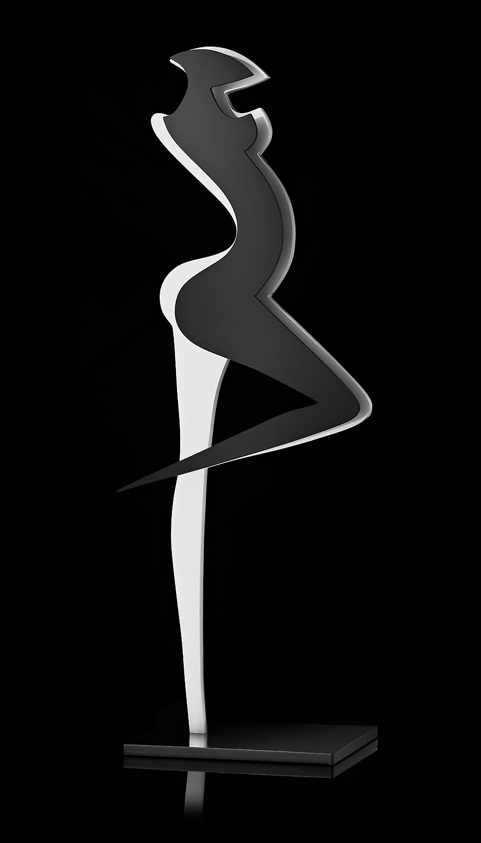 Danseuse, sculpture en Plexiglas®